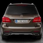 2017 Mercedes-Benz GLS 550 4MATIC Rear Fascia