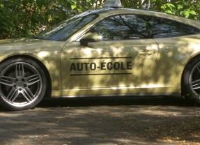 Insolite : Et si vous appreniez à conduire sur une Porsche?