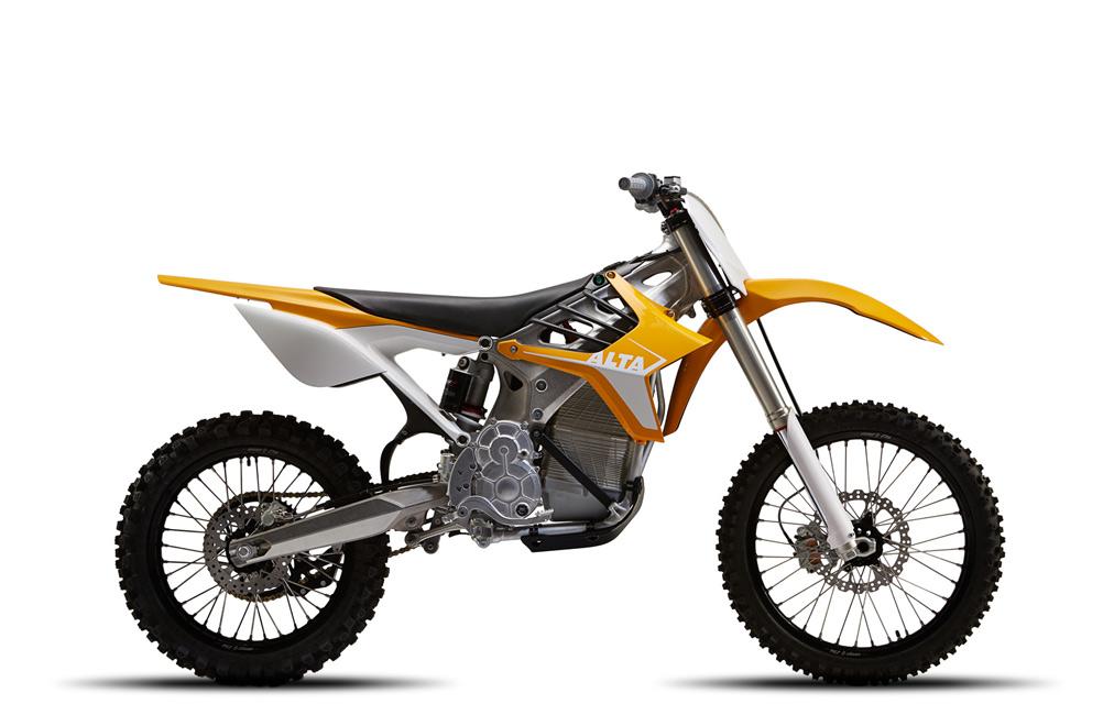 Redshift Electric Motocross Bike by Alta Motors