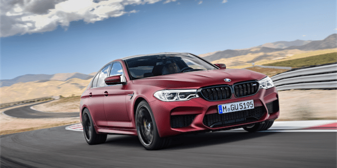 BMW M5 Comes with M xDrive Allwheel Drive for the First Time