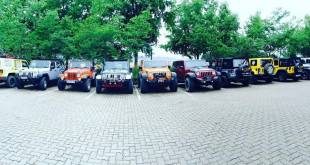Camp Jeep SA 2017...loading in Limpopo