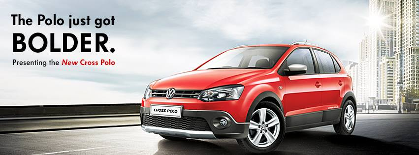 volkswagen launches new polo variant cross polo. Black Bedroom Furniture Sets. Home Design Ideas