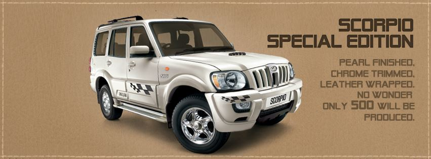 Mahindra Launches Scorpio Special Edition 500 Units Only