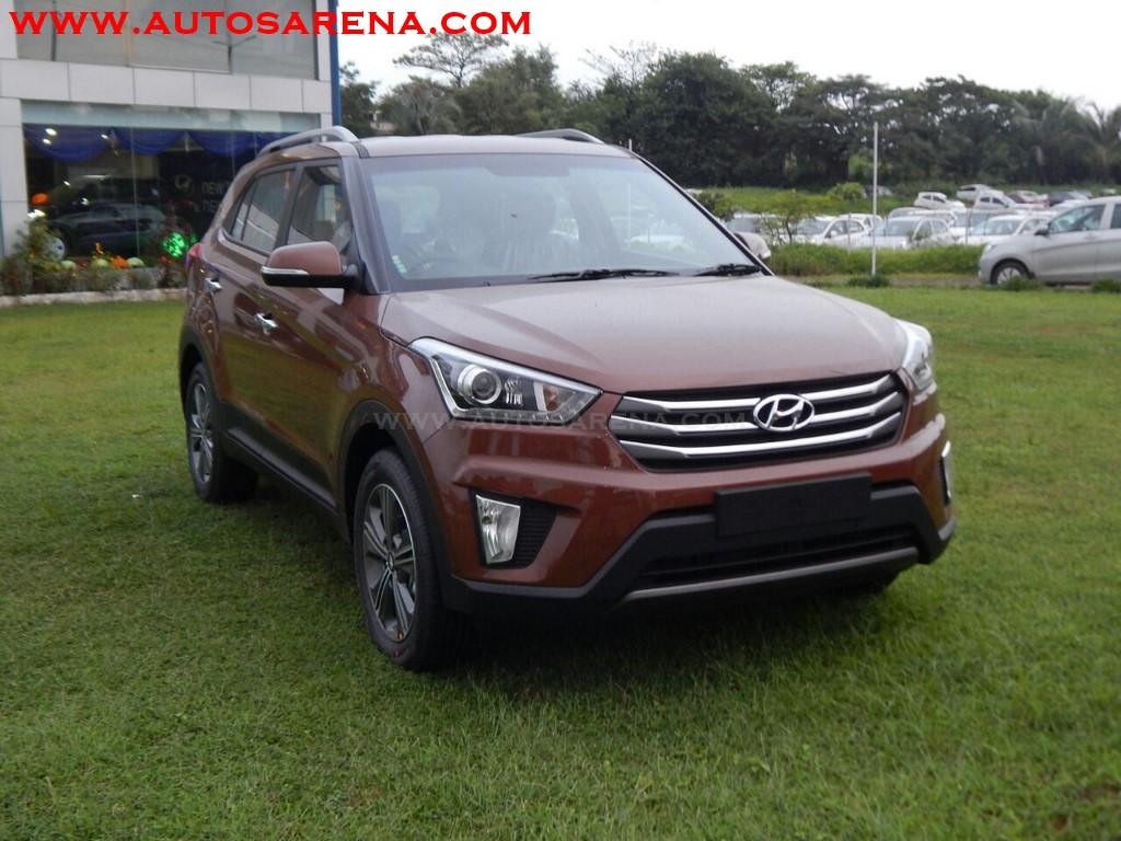Hyundai Creta Earth Brown color gives ruggged appeal