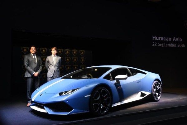 lamborghini launches the hurac n avio special edition in india. Black Bedroom Furniture Sets. Home Design Ideas