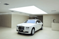 Rolls-Royce Phantom in showroom in Shenyang, China