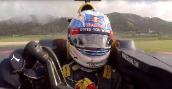 On board hot lap of the Red Bull Ring with Daniel Ricciardo