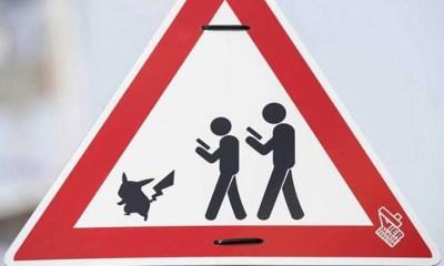 Pokémon Go: Placas de trânsito para evitar acidentes