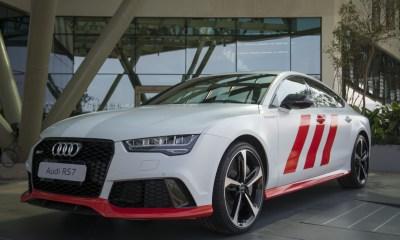 Audi RS7 adidas