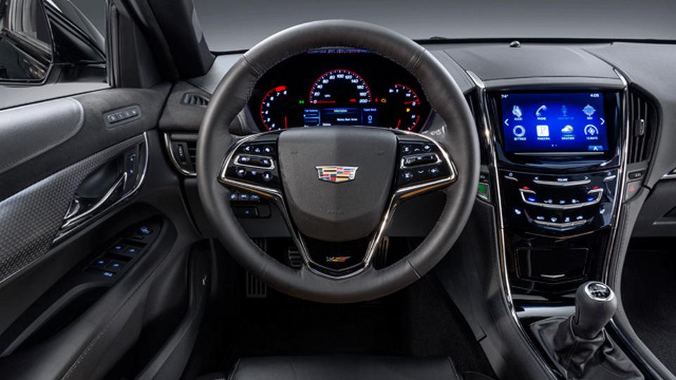 Cadillac CTS-V 2016 Cabin