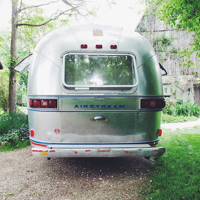 GET A ROOM: Lynne Knowlton's Airstream