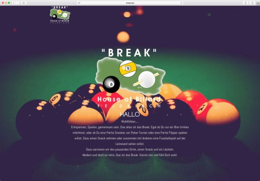 Website: Break House of Billard