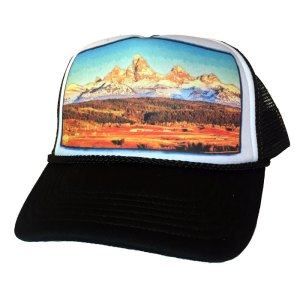 Teton Valley Idaho trucker hat by AVALON7