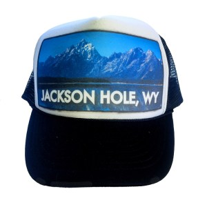 Jackson Hole Jenny Lake trucker hat