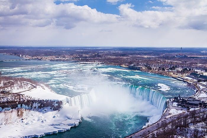 Niagara Falls during Winter