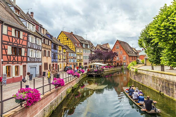 Colmar France! When most people think France, they immediately think Paris, and often times it is unfortunately the only city they visit. Here are 9 of the most charming towns in France!