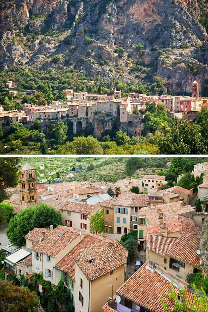Moustiers Sainte-Marie! Click through to see 9 charming towns in France!