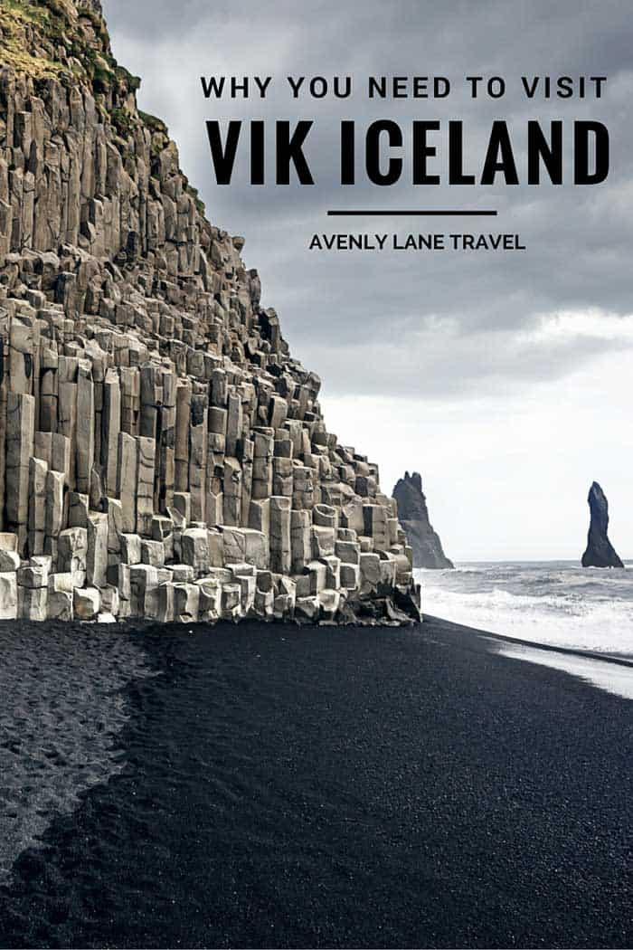 Vik is Iceland's southernmost village and faces the open Atlantic Ocean, framed by a long black volcanic sand beach. Less than 300 people live in Vik, but it is the biggest settlement for some 70km (43 mi). Click through to read why Vik Iceland is a MUST See!