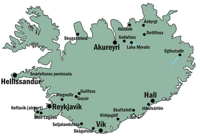 vik map