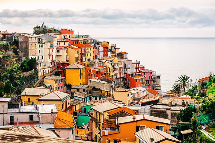 Manarola Village in Italy! Click through to see 27 more of the most beautiful villages in the world!