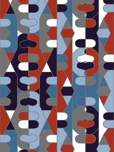 Collection de papiers peints graphiques Papier Tigre - Aventure Déco