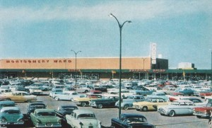 I use to work at a Montgomery Ward back in the mid-70s in the automotive section. I hawked batteries, mufflers, shocks and stick-on compasses.