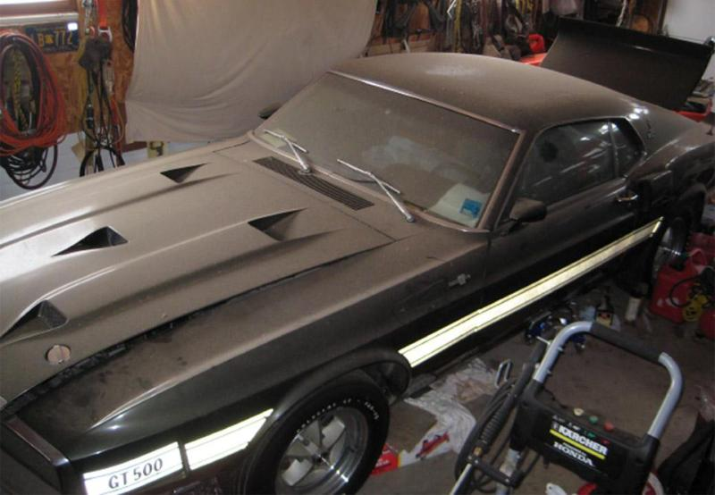 GT 500  Love the hood!!