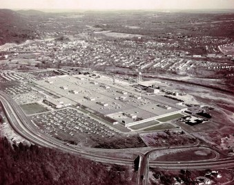 1955 Ford Mahwah New Jersey Plant