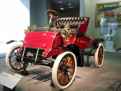 This Runnabout is top of the line Caddy back in 1902.