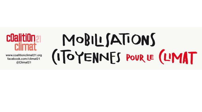 #COP21 : AVES France entre dans la danse et soutient la coalition climat 21