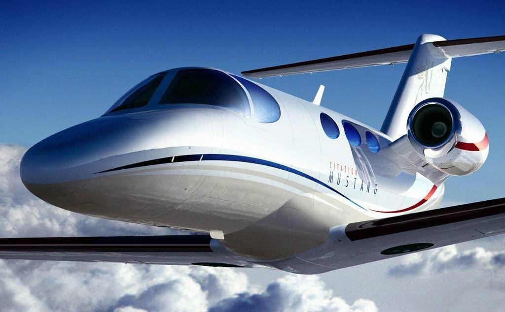 Cessna 510 Citation Mustang. Origem da imagem desconhecida.