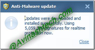 antimalware update