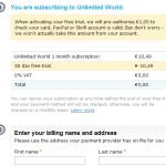 Skype Unlimited World free