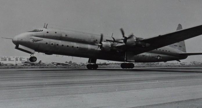 Lockheed R6V Constitution (c) Congress Library
