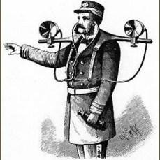 "Topophone de Mayer - Revue ""Scientific American"" - 1880"