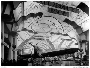 Dewoitine D 500 au salon 1932