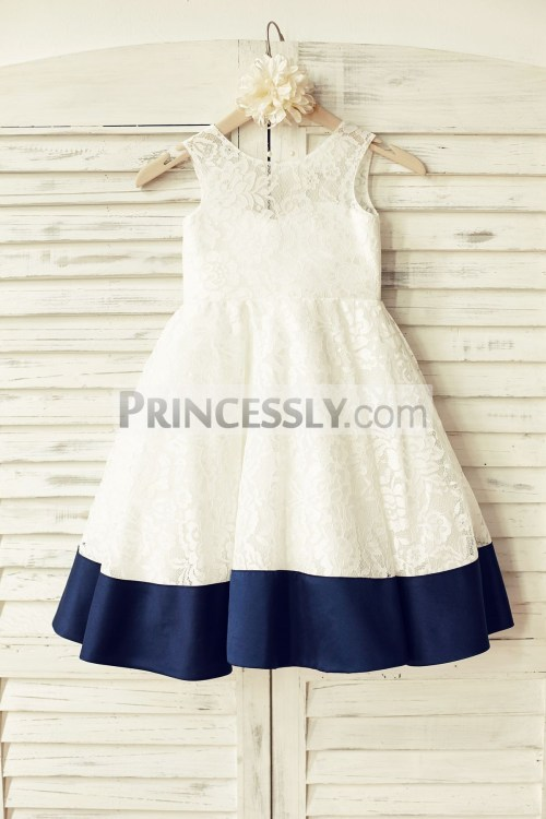 Medium Of Ivory Flower Girl Dresses