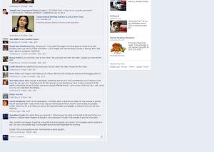 NCADV Facebook page about Ohio oral sexcapade