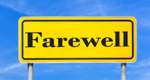 Farewell sign featured image