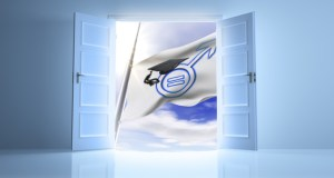 Doorway to flag featured image