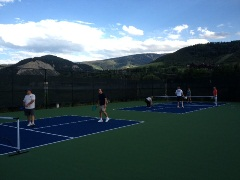 New Pickle Ball Courts in Avon