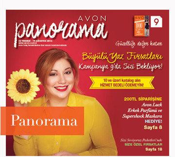 avon k9 Ağustos panorama kataloğu 2016