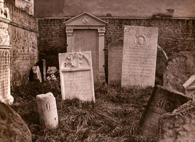 Tombstones of Rabbi Samuel Judah and Rabbi Meir Katzenellenbogen