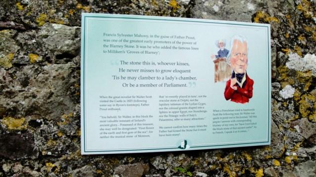 Blarney Castle Sign