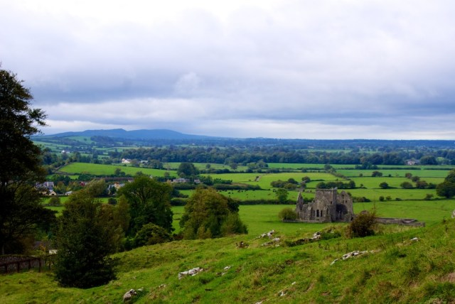 View around the Rock of Cashel.