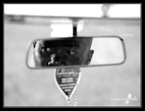George in the Rearview