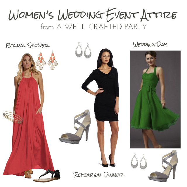 women's wedding attire for traveling to a summer wedding