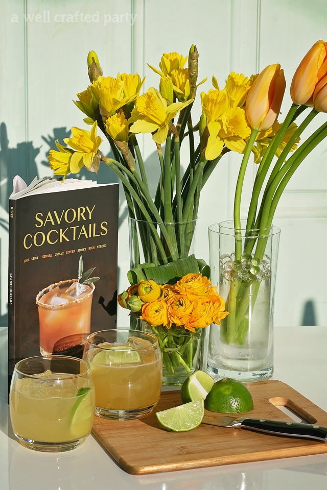 A Well Crafted Party// Savory Cocktails Giveaway