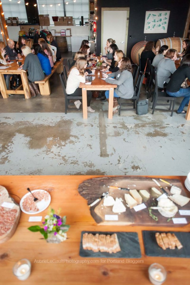 Cyrl's at Clay Pigeon Winery Blogger Speed Networking // A Well Crafted Party