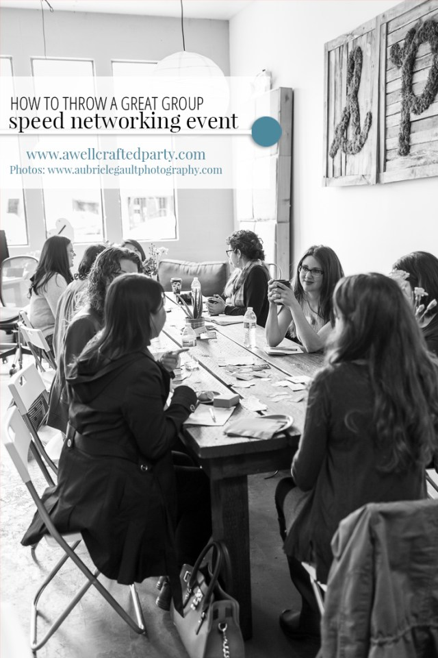 7 Tips for Throwing a Successful Speed Networking Event - A Well Crafted Party